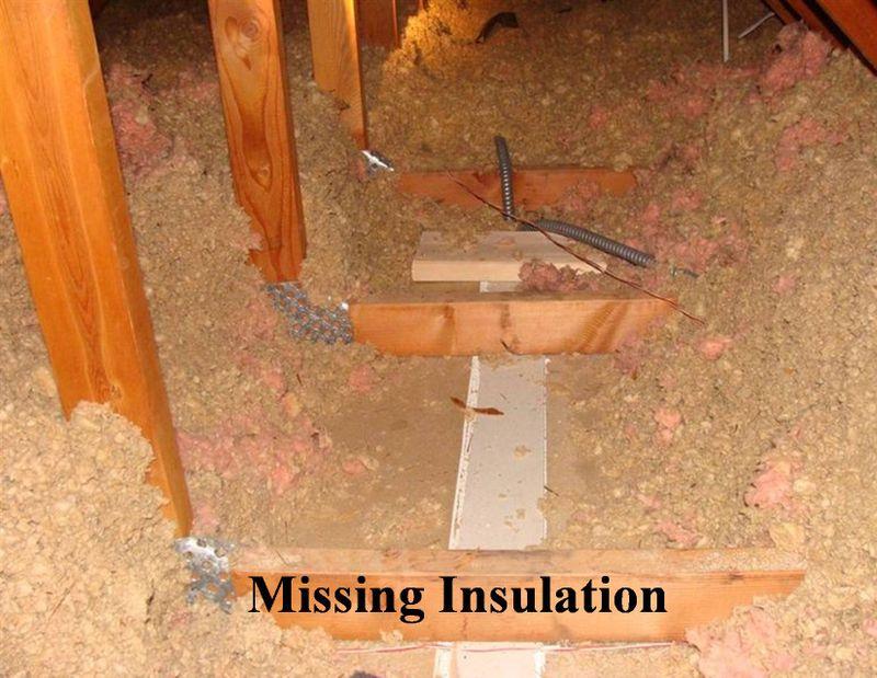 Missing Insulationc