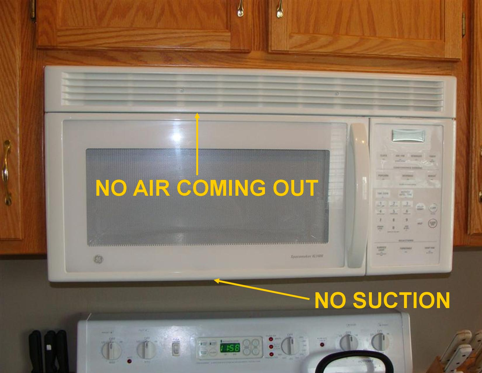 Defects With Range Hood Fans