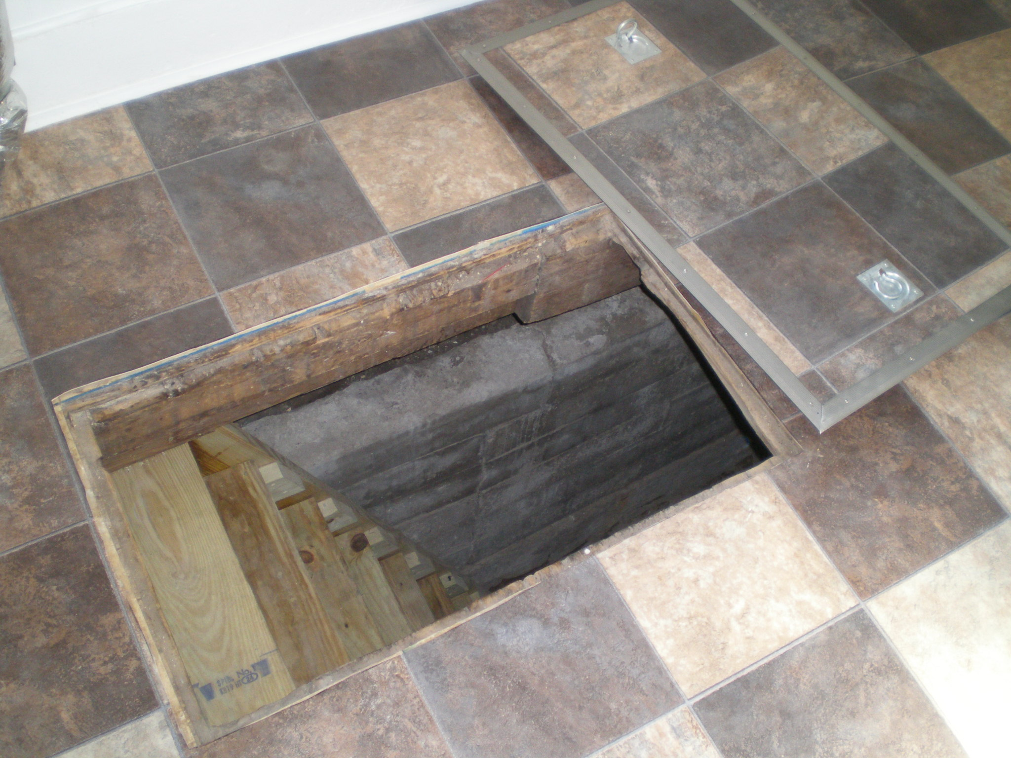 ... Exterior Crawl Space Access Door, Image Source: Pinterest.com. This  Radon Test Is Useless