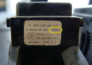 Single Pole Label