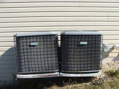 HVAC - AC units too close
