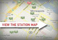 Nice Ride Station Map