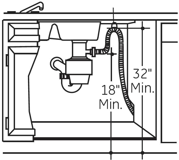 high loop dishwasher