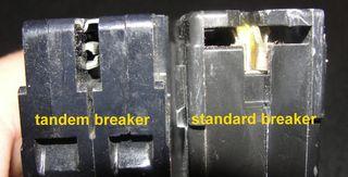 Tandem vs standard breaker
