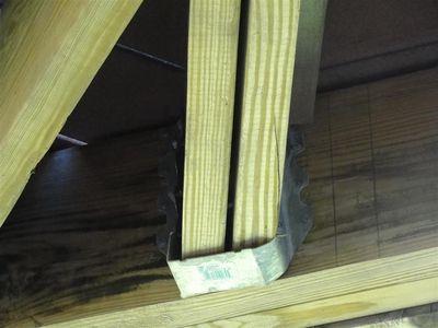 Decks - joist hangers