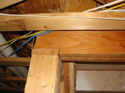 Framing - notched beam