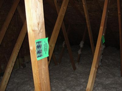 Attics - permanent lateral bracing required