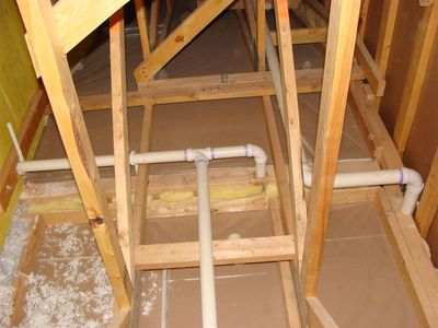 Attics - missing insulation