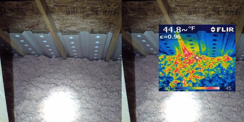 IR Image - recessed light2