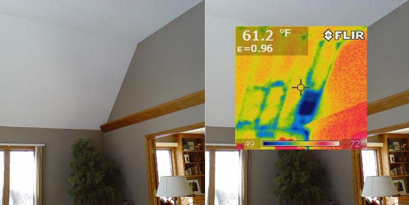 IR Image - missing insulation