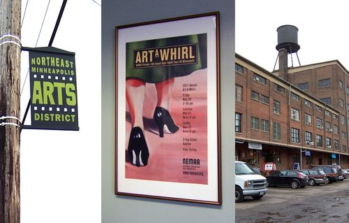 Art-A-Whirl in NE Minneapolis May 20-22 - largest open studio tour in the country