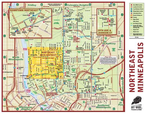 Art-a-whirl-map