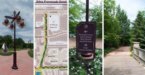Edina Promenade yields high suburban walk score