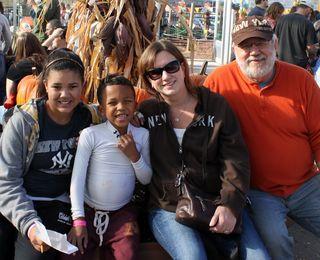 Family-corn maze