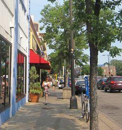 Walking-uptown