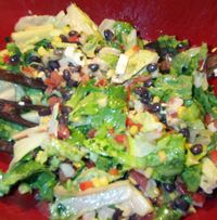 Mexican chop salad