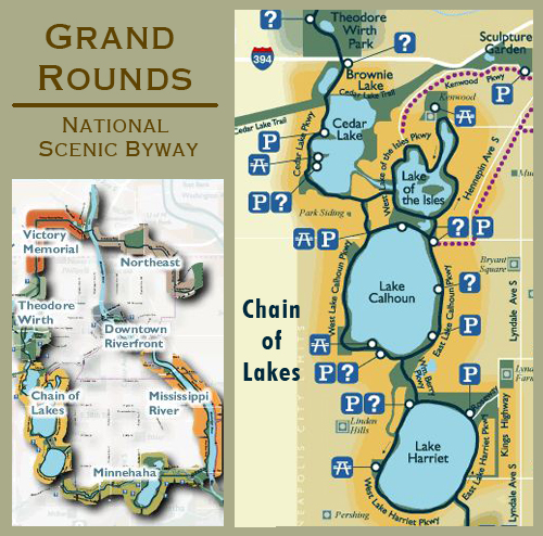 Grand rounds-map