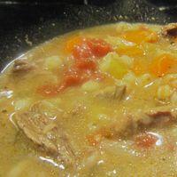 Humphrey beef barley soup