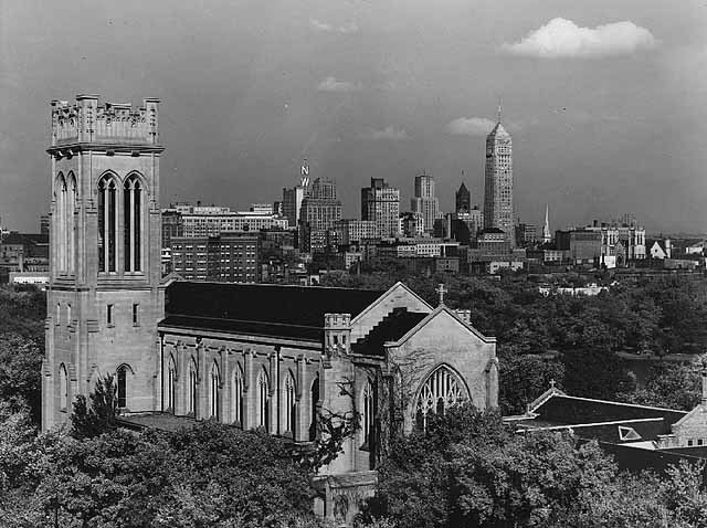 St marks-1955view