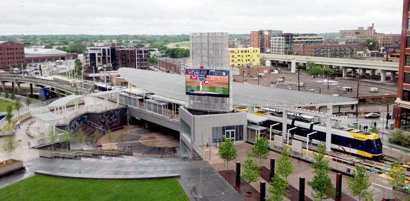 Transit hub