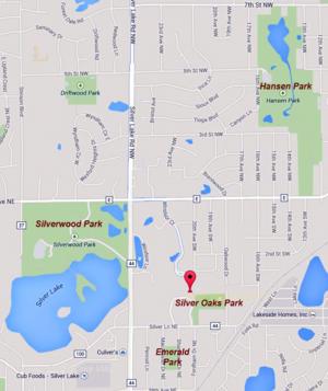 Windsor-parks map