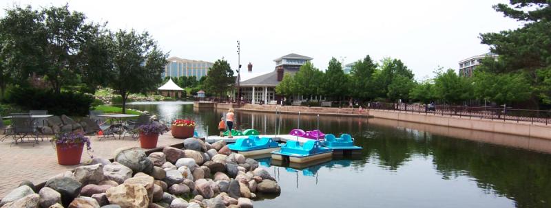 Centennial lakes-paddle boats