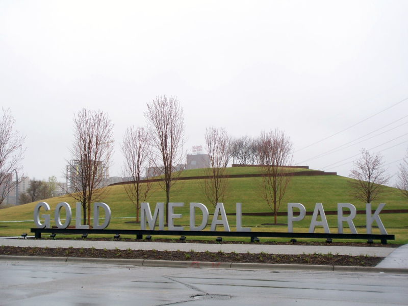 GoldMedalPark-sign