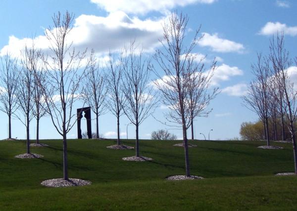 Gen mills-sculpture