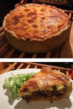 Nordic taco pie