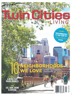 Twin Cities Living 2016