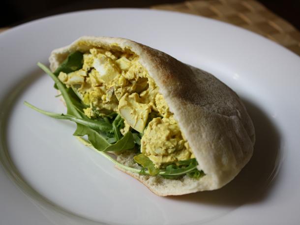 Egg Salad Pita