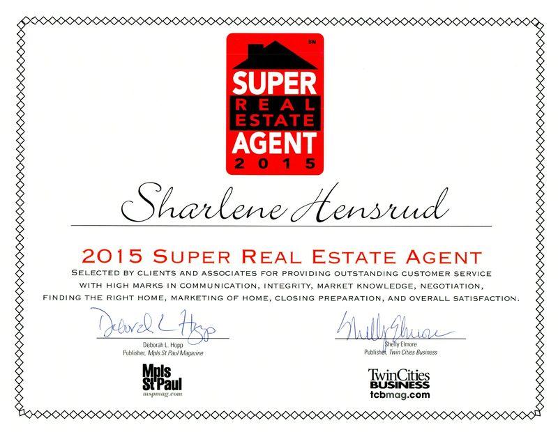 Super real estate agent cert 2015