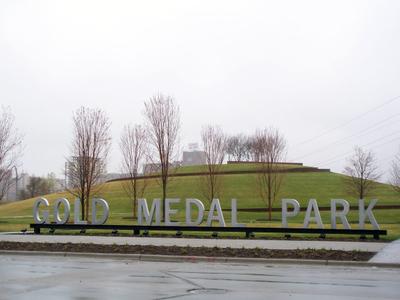Goldmedalparksign